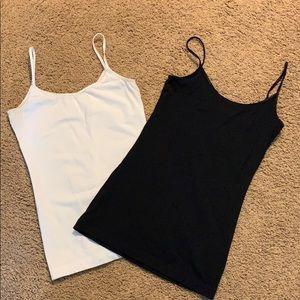 Black and white cami tank top BP brand